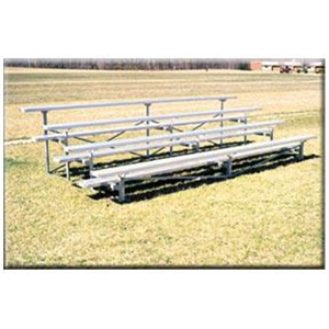 Goal Sporting Goods Four-Row 21-foot Bleacher