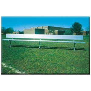 Goal Sporting Goods 21-foot Heavy Duty Bench with Back