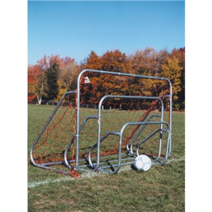 Goal Sporting Goods 4X6 Small-Sided Goal (Gray)
