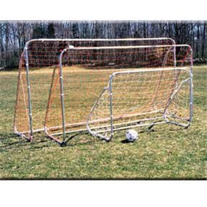 Goal Sporting Goods 6X8 Small Sided Steel Goal wit