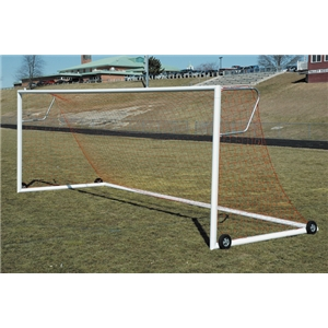 Goal Sporting Goods Official Round European Elliptical Goal with 3 mm Net