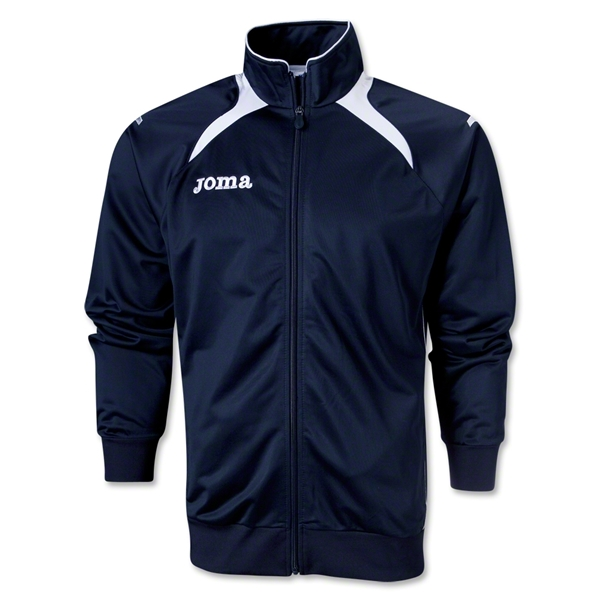 Joma Champion II Poly Track Top (Navy/White)