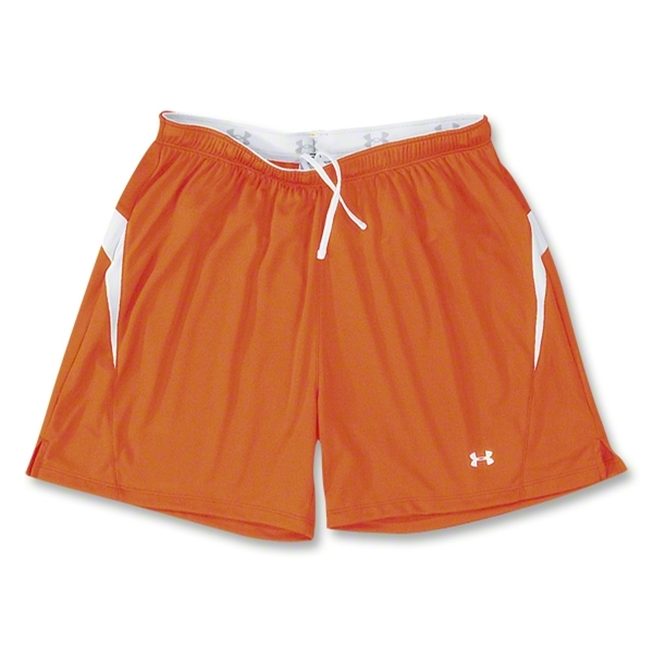 Under Armour Women's Stealth Soccer Shorts (Orange)