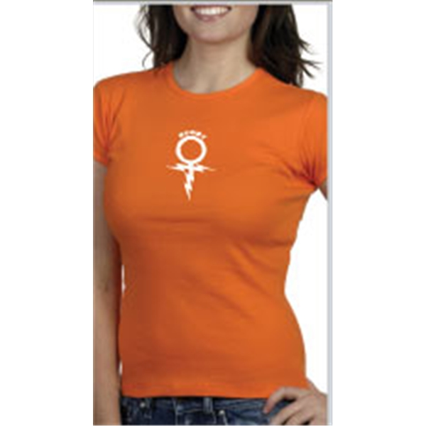 Rugby Sign Women's T-Shirt (Orange)