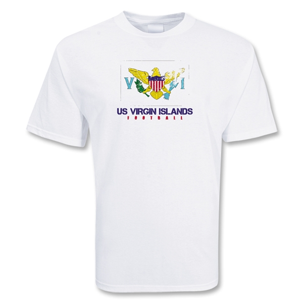 US Virgin Islands Football T-Shirt