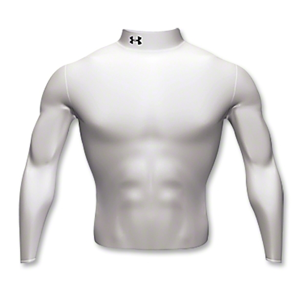 Under Armour Cold Gear Mock (white)
