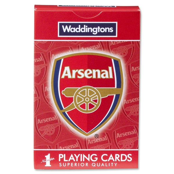 Arsenal Playing Cards
