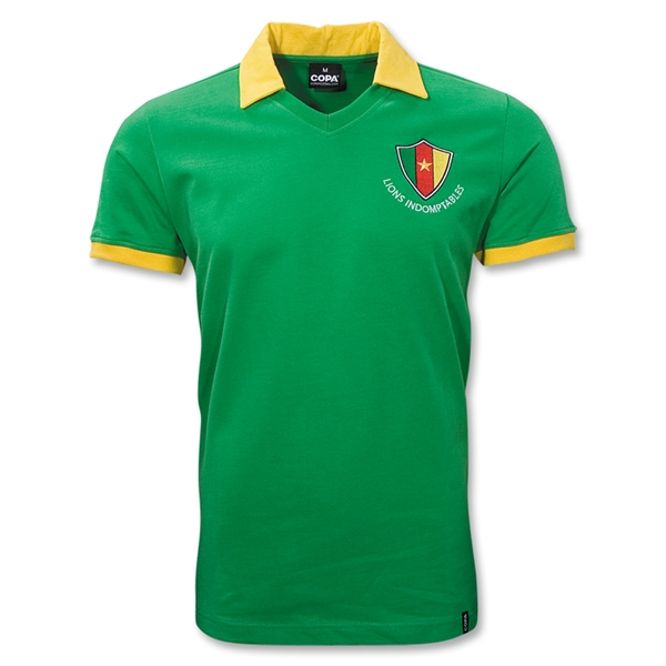 Cameroon World Cup 1982 Soccer Jersey
