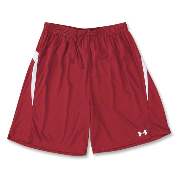 Under Armour Stealth Soccer Shorts (Red)