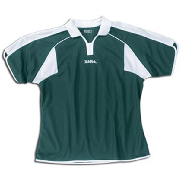 Xara Women's Preston Soccer Jersey (Dark Green)