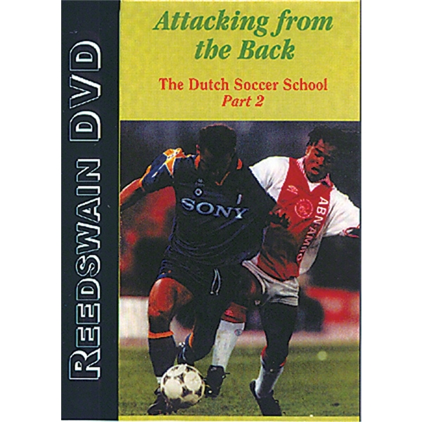 Attacking From the Back Soccer DVD