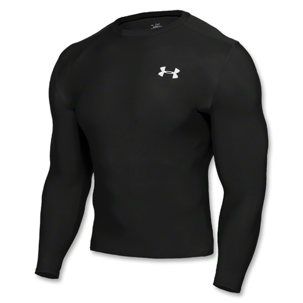 Under Armour HeatGear Compression LS T-Shirt (black)