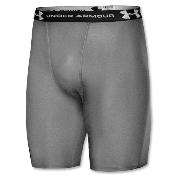 Under Armour HeatGear Compression Short (Gray)