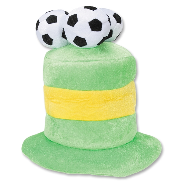 Brazil 3 Soccer Ball Plush Hat
