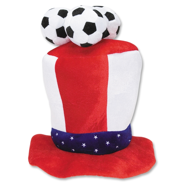 USA 3 Soccer Ball Plush Hat
