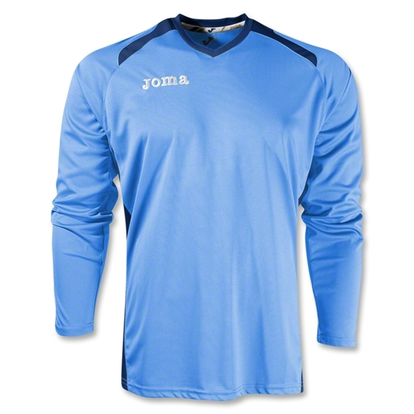 Joma Champion II Long Sleeve Jersey (Sky/Nvy)