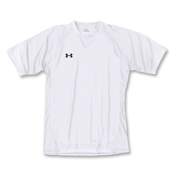 Under Armour Emulate Soccer Jersey (Wh/Bk)
