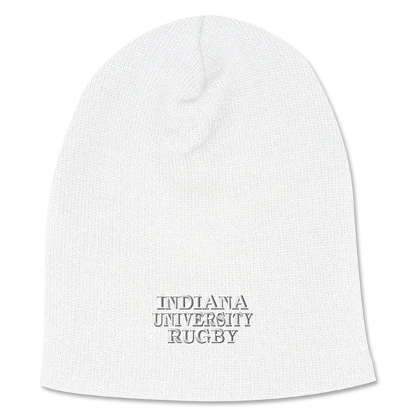 Indiana University Rugby Beanie (White)