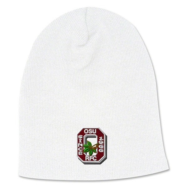 Ohio State Rugby Beanie (White)