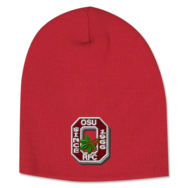 Ohio State Rugby Beanie (Red)