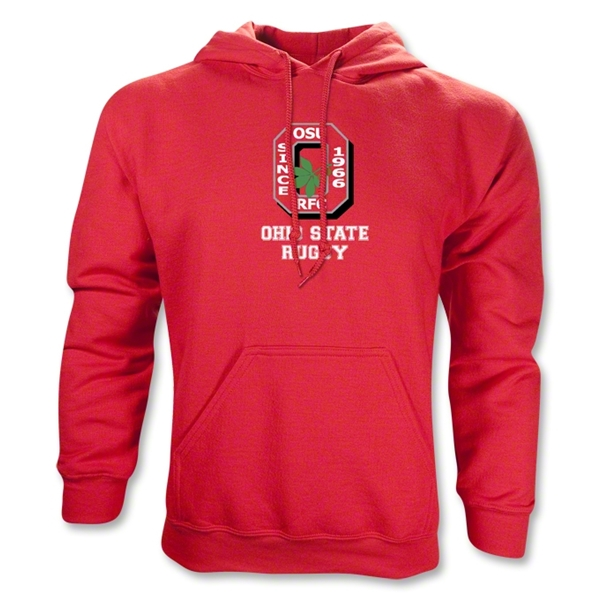 Ohio State Rugby Hoody (Red)