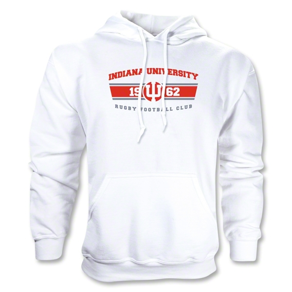 Indiana University Rugby Hoody (White)
