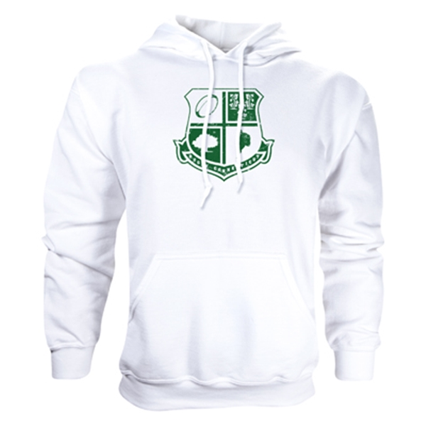 Rugby Connecticut Shield Hoody (White)