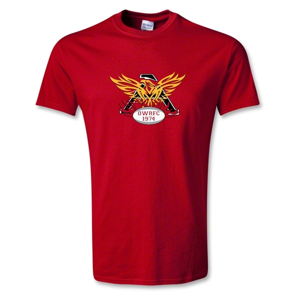 Old White Rugby Club T-Shirt (Red)