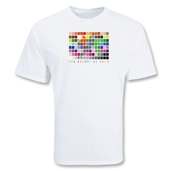 The Beautiful Game Soccer T-Shirt (white)