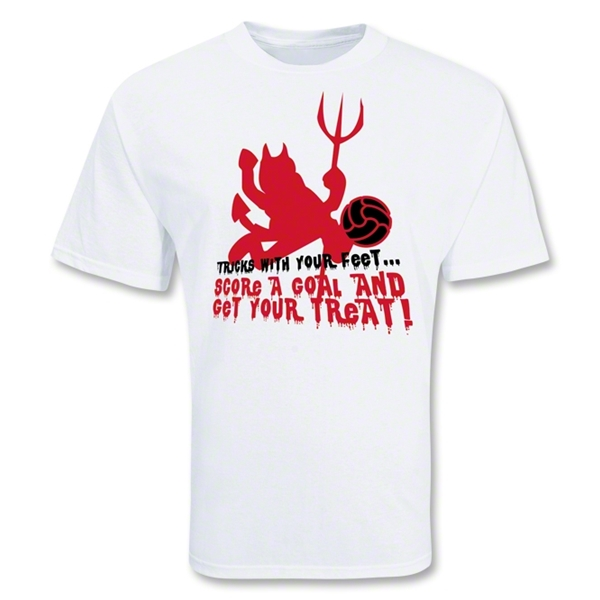 Trick or Treat Soccer T-Shirt