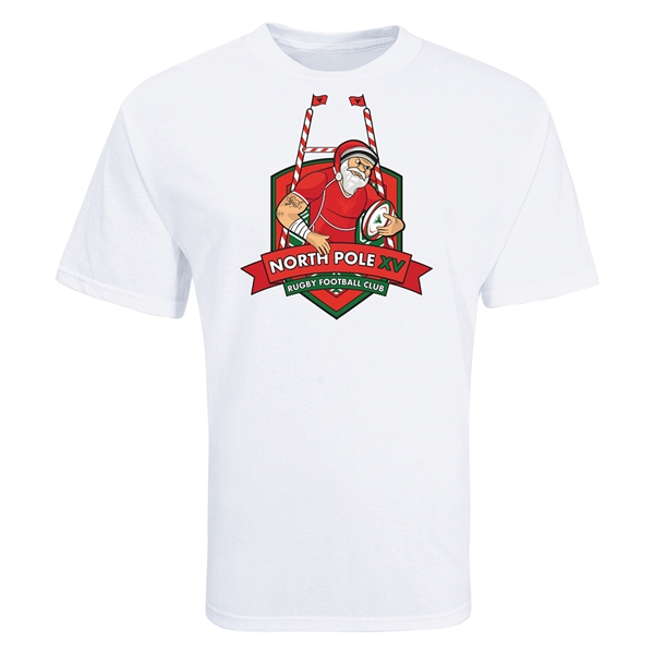 North Pole XV Rugby T-Shirt (White)