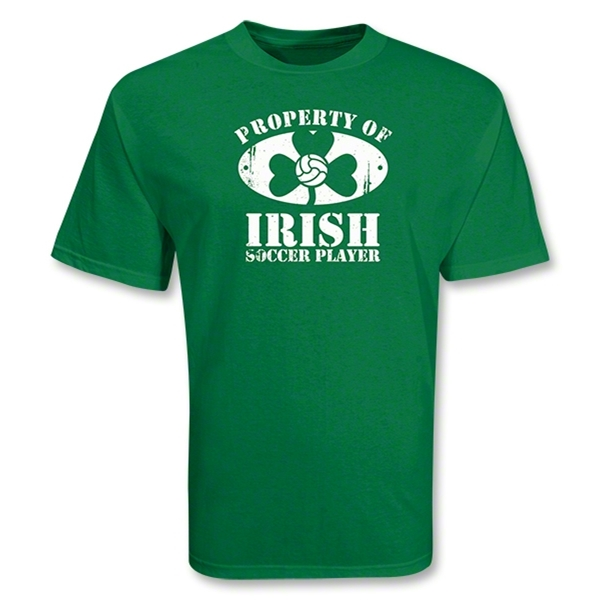 Irish Soccer Player T-Shirt