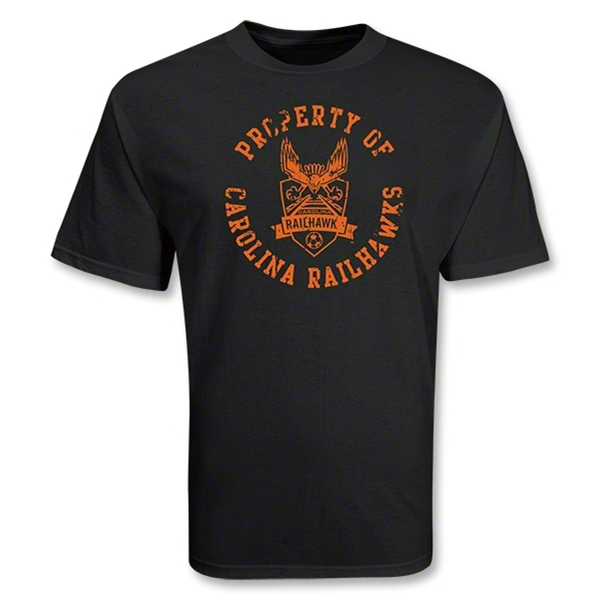 Carolina Railhawks Property Soccer T-Shirt (Black)