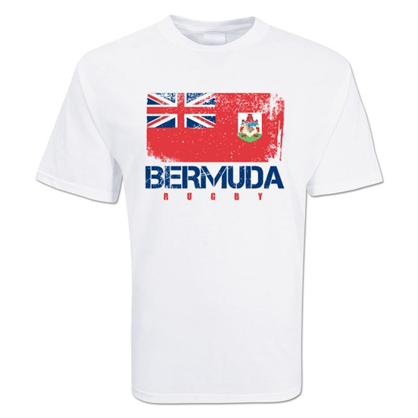 Bermuda Country Rugby Flag T-Shirt