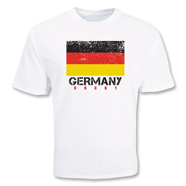 Germany Country Rugby Flag T-Shirt