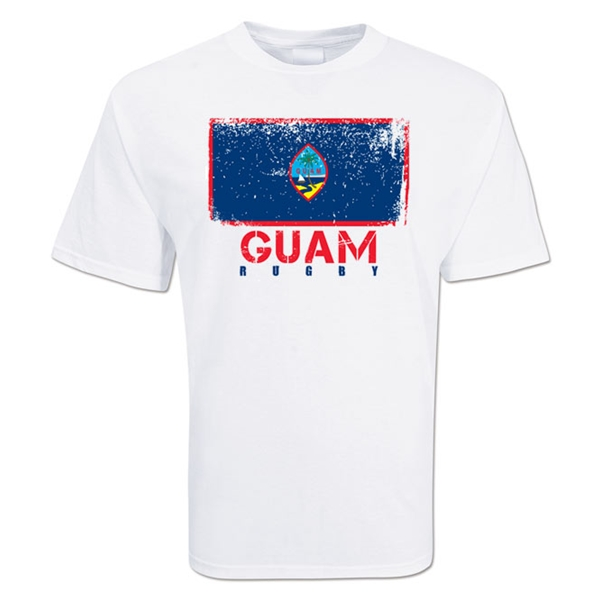 Guam Country Rugby Flag T-Shirt