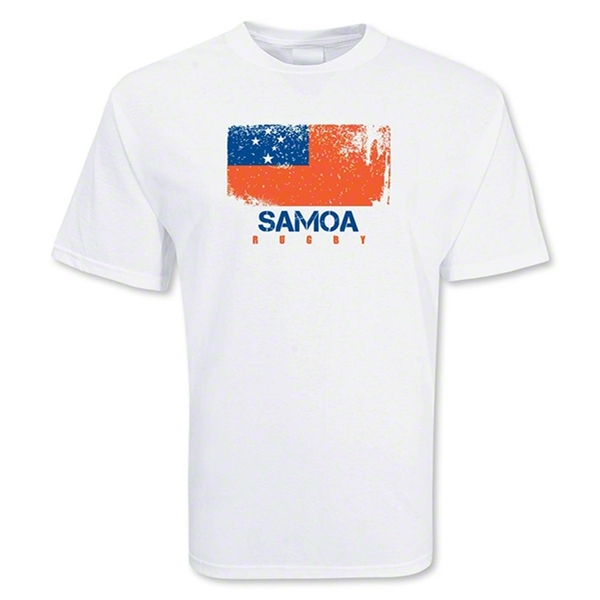 Samoa Country Rugby Flag T-Shirt