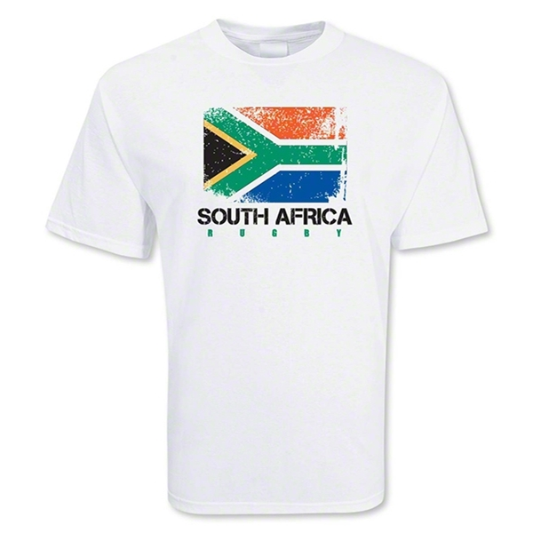South Africa Country Rugby Flag T-Shirt