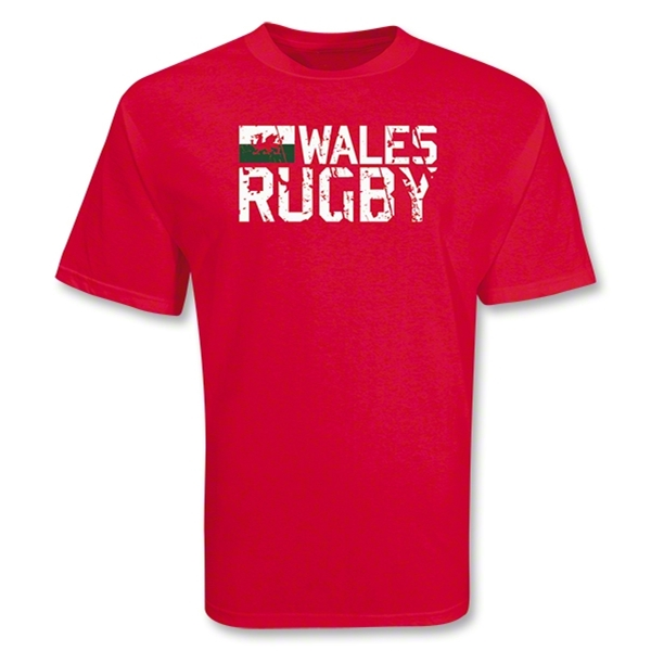 Wales 2011 Rugby T-Shirt (Red)