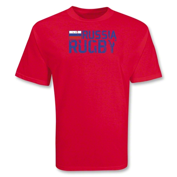 Russia 2011 Rugby T-Shirt (Red)