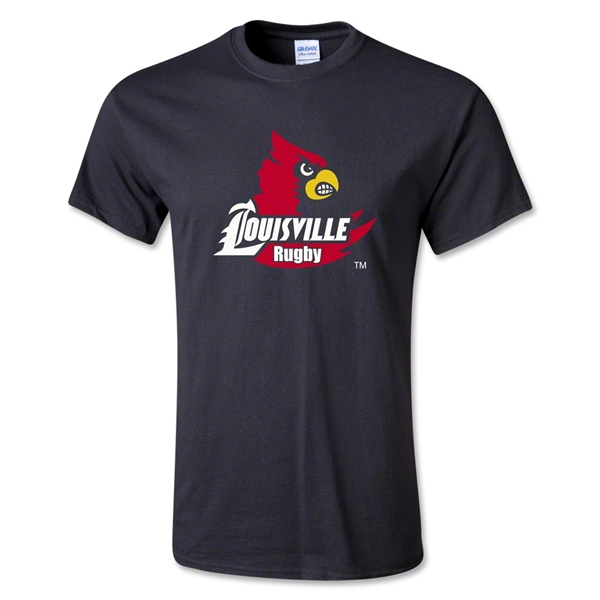 University of Louisville Rugby T-Shirt (Black)