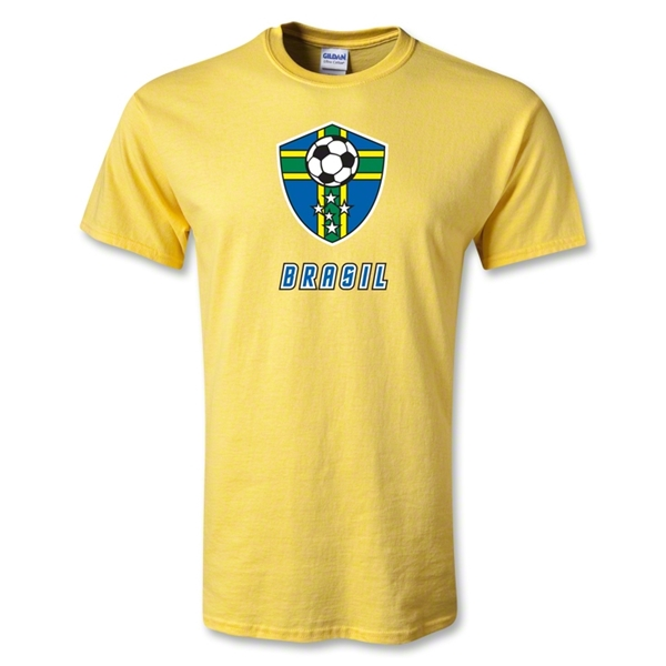 Utopia Brasil Soccer T-Shirt (Yellow)