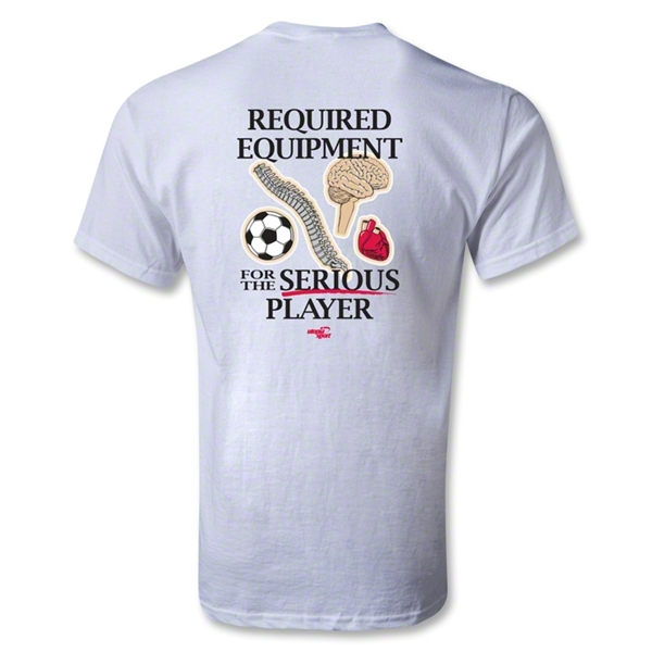 Utopia Required Equipment T-Shirt (White)