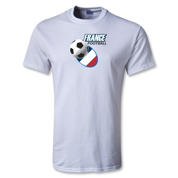 Utopia France Football T-Shirt (White)