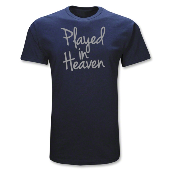 Rugby Played In Heaven T-Shirt (Navy)