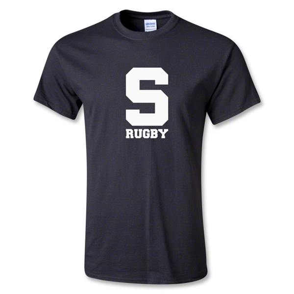 Michigan State University Rugby T-Shirt (Black)
