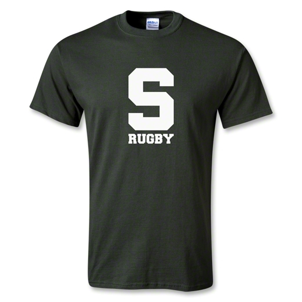 Michigan State University Rugby T-Shirt (Green)