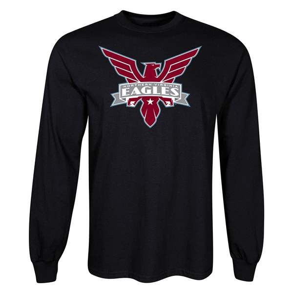 Northern VA Eagles LS T-Shirt (Black)