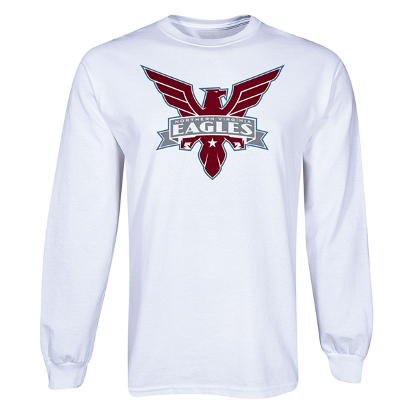 Northern VA Eagles LS T-Shirt (White)