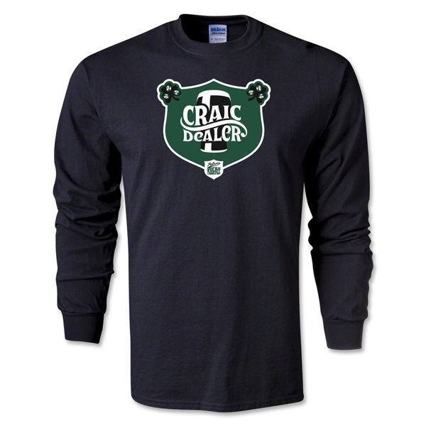 Craic Dealer Alternative Rugby Commentary LS T-Shirt (Black)